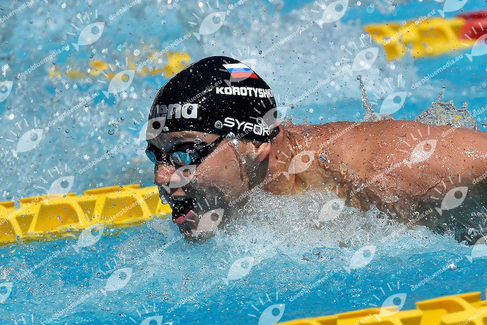 Evgeny Korotyshkin Russia 100m Butterfly Men <br /> Roma 13-06-2014 Foro Italico, 51mo trofeo internazionale Settecolli di Nuoto.  Foto Andrea Staccioli / Insidefoto/Deepbluemedia.eu
