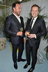 Left to right, ANTHONY MCPARTLIN and DECLAN DONNELLY at the Glamour Magazine Women of the Year Awards in association with Next held in the Berkeley Square Gardens, London on 7th June 2016.