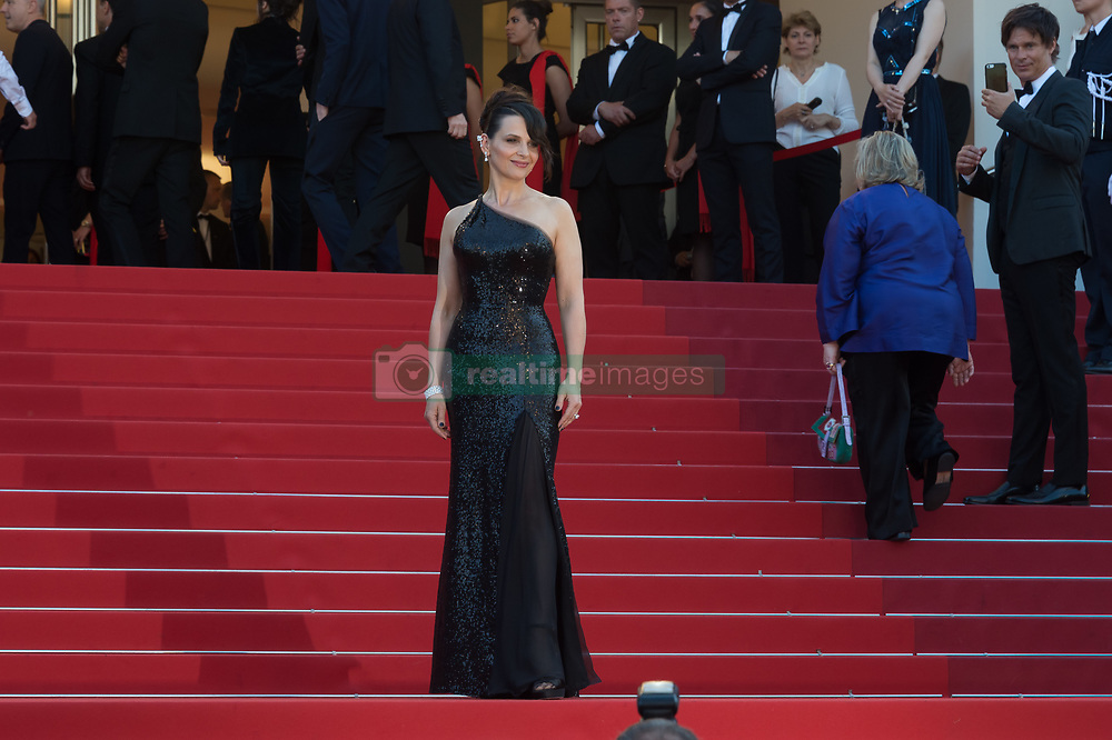 Juliette Binoche attending the Closing Ceremony during the 70th annual Cannes Film Festival held at the Palais Des Festivals in Cannes, France on May 28, 2017 as part of the 70th Cannes Film Festival. Photo by Nicolas Genin/ABACAPRESS.COM