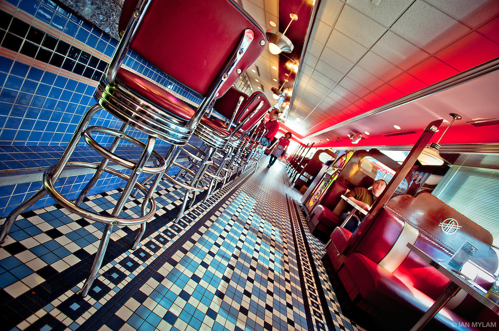 American Diner - Washington D.C., U.S.A.