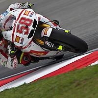 2011 MotoGP World Championship, Round 17, Sepang, Malaysia, 23 October 2011, Marco Simoncelli