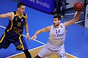 BRINDISI 02 DICEMBRE2014<br /> BASKET EUROCUP<br /> Enel Brindisi Gran Canaria<br /> NELLA FOTO Djordje Gagic<br /> FOTO CIAMILLO