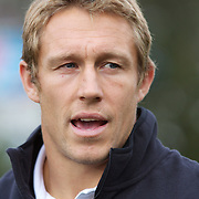 England player Jonny Wilkinson at Wakatipu High School, Queenstown during a visit by England players  during the IRB Rugby World Cup tournament.  Queenstown, New Zealand. 15th September 2011. Photo Tim Clayton...