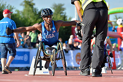 06/08/2017; Foster, Norris, T34, USA at 2017 World Para Athletics Junior Championships, Nottwil, Switzerland