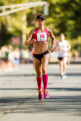 New Haven Road Race 20K: USATF Championship: Jessica Odorcic