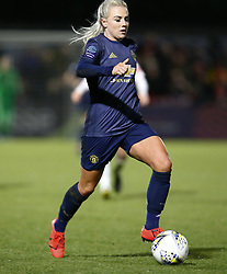 February 7, 2019 - London, England, United Kingdom - Alex Greenwood of Manchester United Women .during FA Continental Tyres Cup Semi-Final match between Arsenal and Manchester United Women FC at Boredom Wood on 7 February 2019 in Borehamwood, England, UK. (Credit Image: © Action Foto Sport/NurPhoto via ZUMA Press)