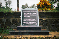 A monument at the My Lai Massacre Museum in Quang Ngai, Vietnam.