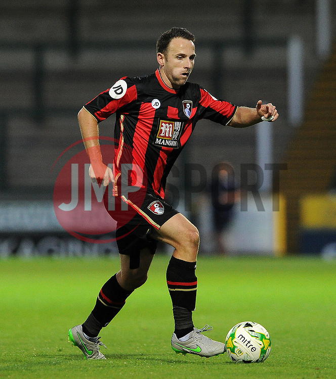Bournemouth's Marc Pugh - Photo mandatory by-line: Harry Trump/JMP - Mobile: 07966 386802 - 28/07/15 - SPORT - FOOTBALL - Pre Season Fixture - Yeovil Town v Bournemouth - Huish Park, Yeovil, England.