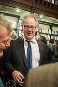 EDWARD FITZGERALD, William Fitzgerald, Book launch ,  'How to read a Latin poem - if you can't read Latin yet' published by OUP.- Daunts bookshop Marylebone, London 21 February 2013.