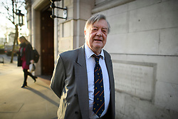 © Licensed to London News Pictures. 20/02/2019. London, UK. Conservative MP KEN CLARKE is seen in Westminster, London following a Radio 4 interview in which he discussed Brexit and ISIS bride Shamima Begum. Photo credit: Ben Cawthra/LNP