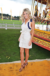 MOLLIE KING at the 2012 Veuve Clicquot Gold Cup Final at Cowdray Park, Midhurst, West Sussex on 15th July 2012.