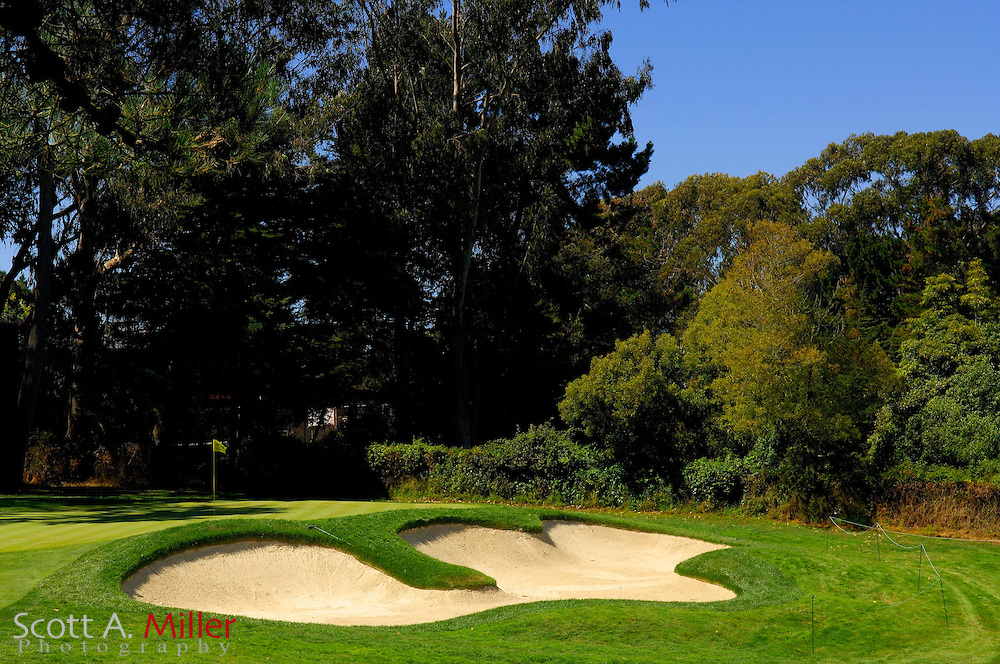 San Francisco -- Aug. 19, 2007 --  Hole No. 13 on the Lake Course at the Olympic Club in San Francisco...©2007 Scott A. Miller