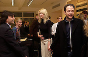Philip Knatchbull, Lady Helen Taylor, Claudia Schiffer and Matthew Vaughan, , Timothy Taylor new gallery opening, Dering  St. 20 May 2003. © Copyright Photograph by Dafydd Jones 66 Stockwell Park Rd. London SW9 0DA Tel 020 7733 0108 www.dafjones.com