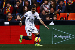 February 10, 2019 - Valencia, Spain - Jose Luis Gaya of Valencia CF during  spanish La Liga match between Valencia CF v Real Sociedad at Mestalla Stadium on February 10, 2019. (Photo by Jose Miguel Fernandez/NurPhoto) (Credit Image: © Jose Miguel Fernandez/NurPhoto via ZUMA Press)