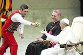 Pope Francis weekly general audience