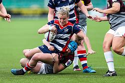 Claire Molloy of Bristol Ladies - Rogan Thomson/JMP - 23/04/2017 - RUGBY UNION - Sixways Stadium - Worcester, England - Bristol Ladies Rugby v Aylesford Bulls - Women's Premiership Final.