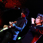 "Richard Butler (right) and Rich Good of The Psychedelic Furs perform on May 8, 2011 in support of the 30th Anniversary of ""Talk Talk Talk"" at the Showbox Market in Seattle, Washington"