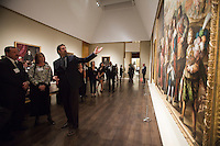 Reception for Portrait of Spain: Masterpieces from the Prado Dec. 13, 2012 in Houston at the Museum of Fine Arts Houston.