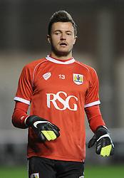 Bristol City Goalkeeper, Dave Richards - Photo mandatory by-line: Dougie Allward/JMP - Mobile: 07966 386802 - 17/02/2015 - SPORT - Football - Bristol - Ashton Gate - Bristol City v Peterborough United - Sky Bet League One