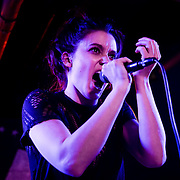 Meg Myers performing at U Street Music Hall in Washington DC on 05/02/2014