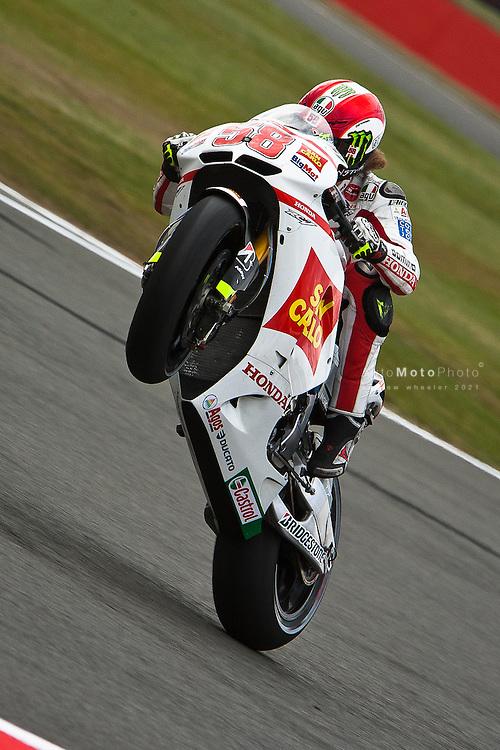 2011 MotoGP World Championship, Round 6, Silverstone, United Kingdom, June 12, 2011, Marco Simoncelli