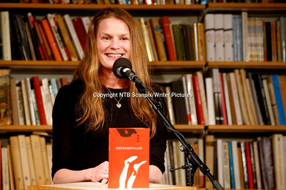 Oslo  20150305.<br /> Kritikerprisen for beste voksenbok for &Acirc;ret 2014 tildeles  Ingvild H. Rish&macr;i for boken Vinternoveller (Gyldendal) p&Acirc; Litteraturhuset i Oslo torsdag.<br /> Foto: H&Acirc;kon Mosvold Larsen / NTB scanpix<br /> <br /> NTB Scanpix/Writer Pictures<br /> <br /> WORLD RIGHTS, DIRECT SALES ONLY, NO AGENCY