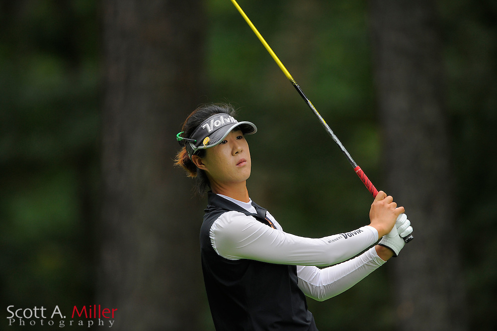 Birdie Kim during the Symetra Tour's Eagle Classic at the Richmond Country Club on August 18, 2012 in Richmond, Va...©2012 Scott A. Miller.