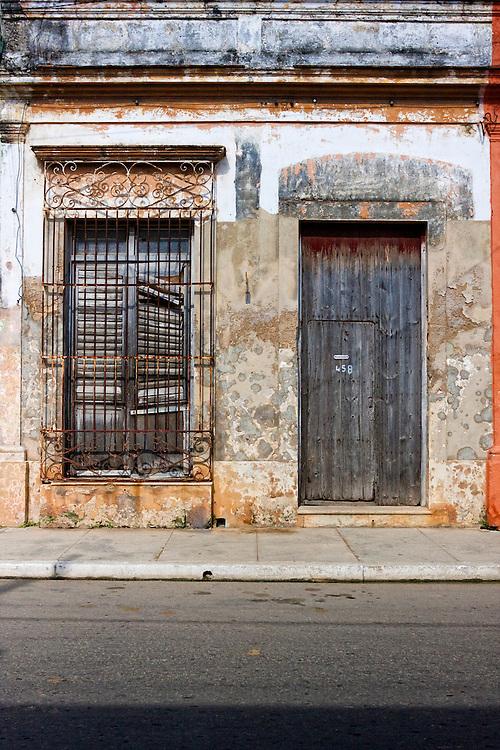 Old house in Cardenas, Matanzas, Cuba.