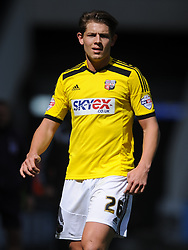 James Tarkowski Brentford, Derby County v Brentford, Sy Bet Championship, IPro Stadium, Saturday 11th April 2015. Score 1-1,  (Bent 92) (Pritchard 28)<br /> Att 30,050