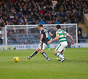 Dundee&rsquo;s Paul McGowan and Celtic captain Scott Brown  - Dundee v Celtic, Ladbrokes Scottish Premiership at Dens Park<br />  <br />  - &copy; David Young - www.davidyoungphoto.co.uk - email: davidyoungphoto@gmail.com