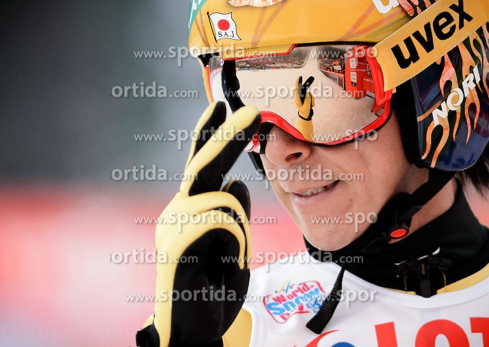 18.01.2015, Wielka Krokiew, Zakopane, POL, FIS Weltcup Ski Sprung, Zakopane, im Bild NORIAKI KASAI // during men's Large Hill competition of FIS Ski Jumping world cup at the Wielka Krokiew in Zakopane Wielka Krokiew in Zakopane, Poland on 2015/01/18. EXPA Pictures &copy; 2015, PhotoCredit: EXPA/ Newspix/ RAFAL OLEKSIEWICZ<br /> <br /> *****ATTENTION - for AUT, SLO, CRO, SRB, BIH, MAZ, TUR, SUI, SWE only*****