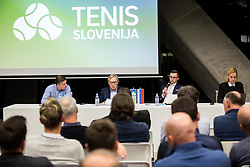 Bruno Nikolic during General Assembly of Slovenian Tennis Federation, on December 12, 2018 in Kristalna palaca, Ljubljana, Slovenia. Photo by Vid Ponikvar / Sportida