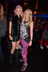 Left to right, Noelle Reno and Jenny Halpern-Prince at the SheInspiresMe Dance in aid of Women for Women International held at the Café de Paris, 3 Coventry Street, London England. 25 January 2017.