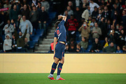 Edinson Roberto Paulo Cavani Gomez (El Matador) (El Botija) (Florestan) (PSG) scored a goal and celebrated it, reacts during the French Championship Ligue 1 football match between Paris Saint-Germain and AS Saint-Etienne on September 14, 2018 at Parc des Princes stadium in Paris, France - Photo Stephane Allaman / ProSportsImages / DPPI