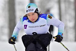WICKER Anja, GER, LW10.5 at the 2018 ParaNordic World Cup Vuokatti in Finland