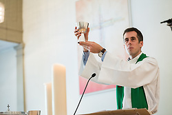 "1 July 2018, Geneva, Switzerland: On Sunday, LWF Council members joined local congregants for Sunday service at the Evangelical Lutheran Church in Geneva. Rev. Andy Willis led the morning's English-speaking service. The 2018 LWF Council meeting takes place in Geneva from 27 June - 2 July. The theme of the Council  is ""Freely you have received, freely give"" (Matthew 10:8, NIV). The LWF Council meets yearly and is the highest authority of the LWF between assemblies. It consists of the President, the Chairperson of the Finance Committee, and 48 members from LWF member churches in seven regions."
