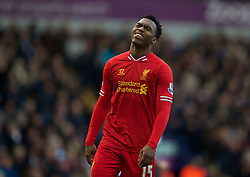 02.02.2014, The Hawthorns, West Bromwich, ENG, Premier League, West Bromwich Albion vs FC Liverpool, 24. Runde, im Bild Liverpool's Daniel Sturridge looks dejected after missing, chance West Bromwich Albion // during the English Premier League 24th round match between West Bromwich Albion and Liverpool FC at the The Hawthorns in West Bromwich, Great Britain on 2014/02/02. EXPA Pictures &copy; 2014, PhotoCredit: EXPA/ Propagandaphoto/ David Rawcliffe<br /> <br /> *****ATTENTION - OUT of ENG, GBR*****