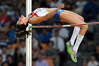 ATHLETICS - IAAF WORLD CHAMPIONSHIPS 2011 - DAEGU (KOR) - DAY 8 - 03/09/2011 - WOMEN HIGH JUMP FINAL - ANNA CHICHEROVA (RUS) / WINNER - PHOTO : FRANCK FAUGERE / KMSP / DPPI