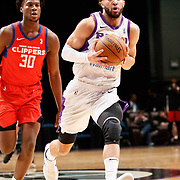 Reno Bighorns Guard CODY DEMPS (2) during the NBA G-League Basketball game between the Reno Bighorns and the Agua Caliente Clippers at the Reno Events Center in Reno, Nevada.