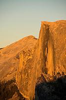 Half Dome at sunset. Yosemite National Park, Ca.