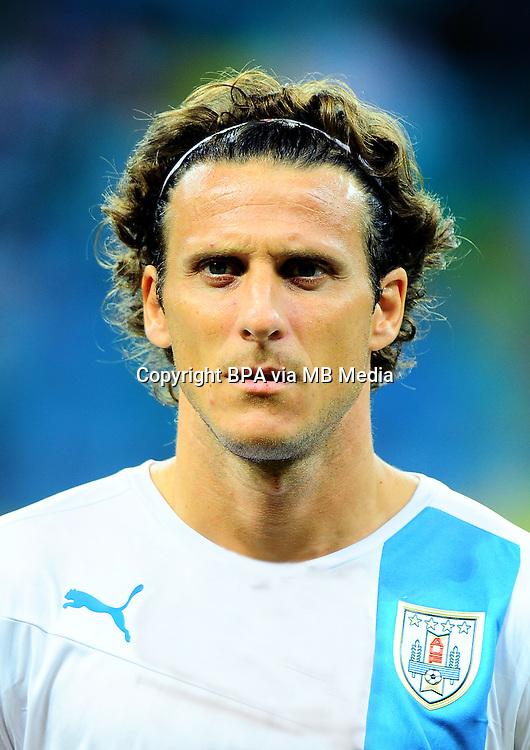 Fifa Brazil 2014 World Cup - <br /> Uruguay Team - <br /> Diego FORLAN