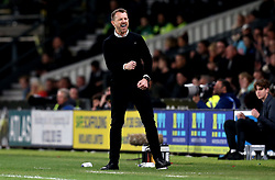 Derby County manager Gary Rowett celebrates his first win in his first home game of his new club - Mandatory by-line: Robbie Stephenson/JMP - 31/03/2017 - FOOTBALL - iPro Stadium - Derby, England - Derby County v Queens Park Rangers - Sky Bet Championship