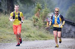 23.07.2016, Kals, AUT, Grossglockner Ultra Trail 2016, im Bild Reich Bernhard (AUT) rechts// during the 2016 Grossglockner Ultra Trail. Kals, Austria on 2016/07/23. EXPA Pictures © 2015, PhotoCredit: EXPA/ Johann Groder