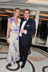 RICHARD & JEMIMA HANNON at the 22nd Cartier Racing Awards held at The Dorchester, Park Lane, London on 13th November 2012.