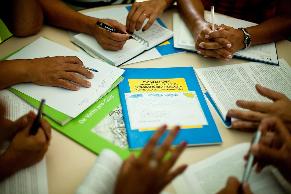 Contagem_MG, Brasil...Projeto De Volta pra Casa, da Secretaria de Desenvolvimento Social em Contagem, Minas Gerais..Project Back Home, the Department of Social Development in Contagem, Minas Gerais..Foto: LEO DRUMOND / NITRO
