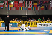 LAS VEGAS, NV - JULY 9:  Athletes compete during the  IBJJF nationals during day 2 of the UFC Fan Expo at the Las Vegas Convention Center on July 9, 2016 in Las Vegas, Nevada. (Photo by Cooper Neill/Zuffa LLC/Zuffa LLC via Getty Images) *** Local Caption ***