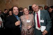 GEORGE PSARIAS; RACHEL MCALLEY; GIANFRANCO DAMMONE, Streetsmart Reception at 11 Downing St. London. 1 November 2011. <br /> <br />  , -DO NOT ARCHIVE-© Copyright Photograph by Dafydd Jones. 248 Clapham Rd. London SW9 0PZ. Tel 0207 820 0771. www.dafjones.com.