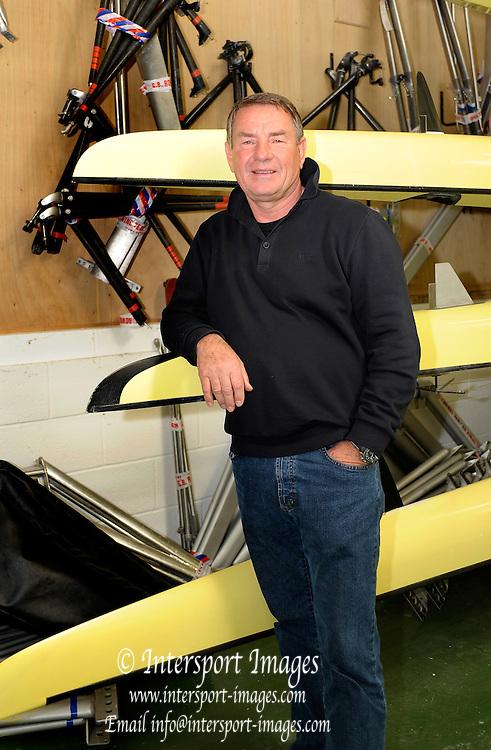 Caversham, Great Britain,  Jurgen GROBLER, at the Redgrave Pinsent Rowing Lake. GB Rowing Training centre. Wed. 18.03.2009.  [Mandatory Credit. Peter Spurrier/Intersport Images]