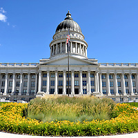 Utah State Capitol Building in Salt Lake City, Utah<br />