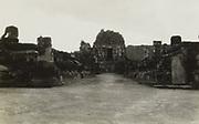 Overblijfselen van hindoetempels op Midden-Java